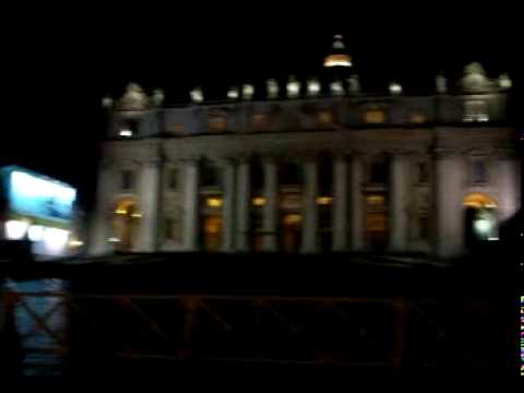 Bells ringing at the Vatican, Papal residence