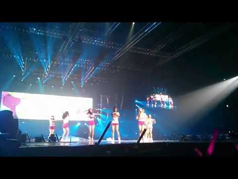 SNSD World Tour - Jakarta 140913 - Into The New World / Oh! / Twinkle (OT9) / Ending