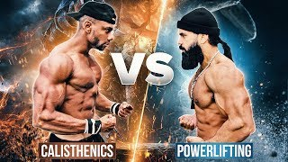 Calisthenics vs. Powerlifting | H.O.R.S.E Challenge