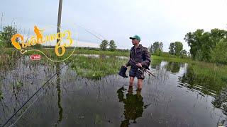 Рыбалка на спиннинг ультралайт с берега весной Рыбалка в мае 2020
