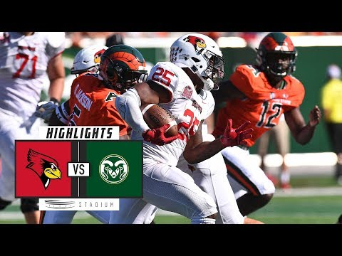Illinois State vs Colorado State Football Highlights (2018) | Stadium