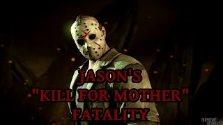 mortal kombat x jason s kill for mother fatality performed on all characters arcade ending