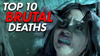 Top 10 BRUTAL Deaths in Gaming