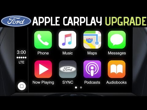 How To Get Apple CarPlay On ANY 2016 Ford (Mustang, Focus, Fiesta, Transit Etc)