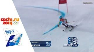 XXII Зимние Олимпийские игры.Сочи.Горные лыжи.Гигантский слалом.Мужчины.1 заезд 19.02.2014.(, 2016-11-13T15:21:26.000Z)