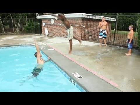 Fun Swimming Pool Games Swimming Tips Youtube