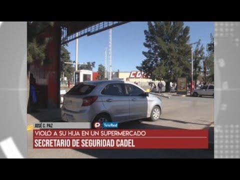 José C. Paz: Violó A Su Hija En Un Supermercado