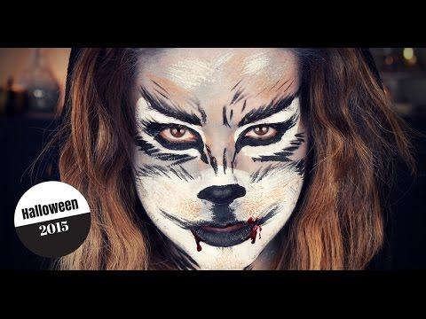 How To Do Wolf Makeup Samantha Ebreo Youtube