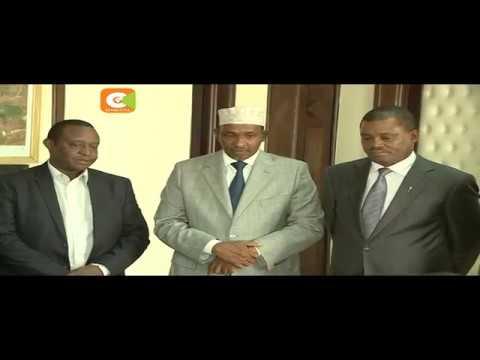 Kenyatta, Ruto meets parliament leadership