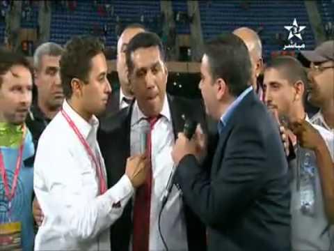 Maroc 4-0 Mozambique: Déclarations de Taoussi  !!