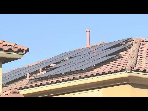 Las Vegas man has warning about solar scam