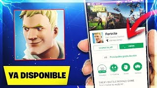 How **DOWNLOAD AND PLAY FORTNITE ON ANDROID FOR FREE**!! YA SALIO FORTNITE IN ANDROID FREE