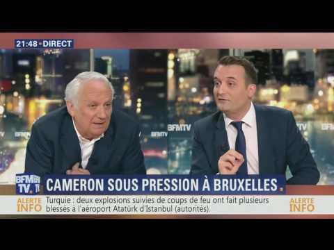Sans arguments JM Cavada insulte et attaque Floriant Phillipot (FN)