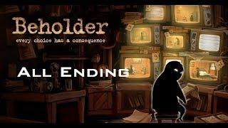 Beholder All Endings! / 비홀더 모든 엔딩