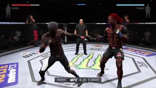 Ground And Pound Takeover  UFC Gameplay 