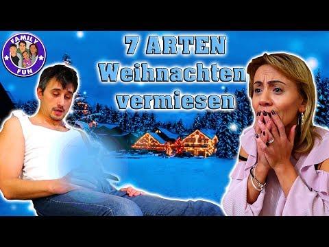 7 Arten Weihnachten Zu Versauen - Weihnachtsfest Kaputt Machen | Family Fun