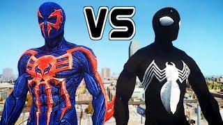 SPIDERMAN 2099 VS SYMBIOTE SPIDER-MAN