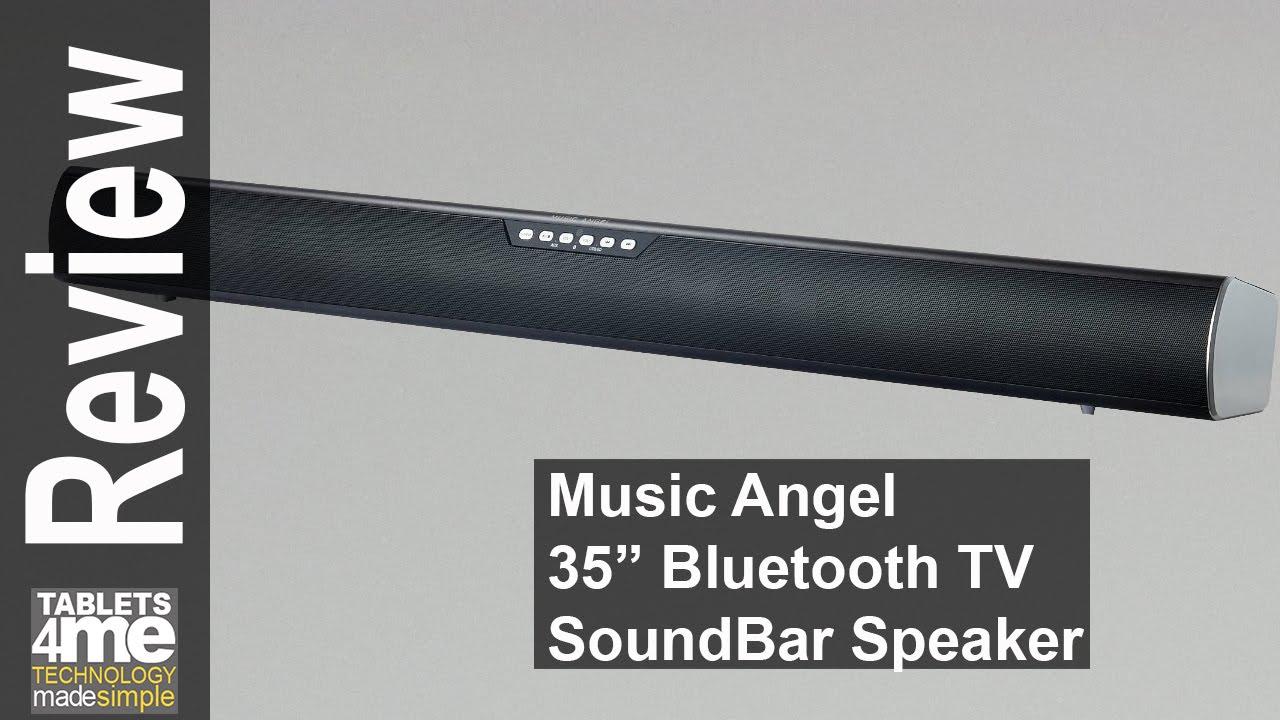 Music Angel 35 Inch Tv Sound Bar Satellite Speakers Wireless Subwoofer