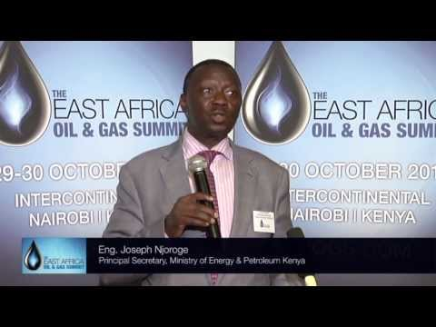 The 2nd East Africa Oil and Gas Summit  (EAOGS) Press Launch, Nairobi, 2013