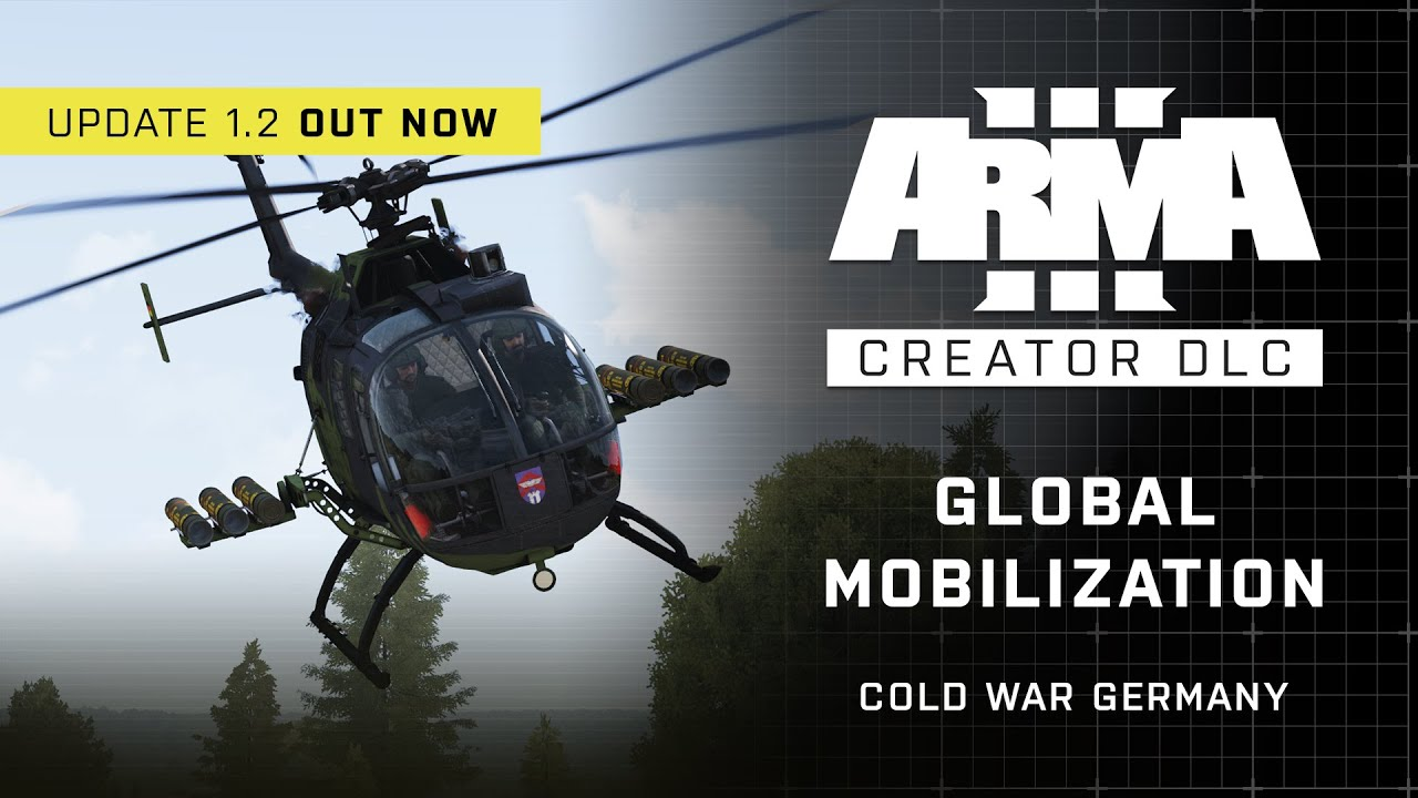 Arma 3 Creator DLC: Global Mobilization - Cold War Germany Update 1.2 Trailer