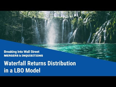 Waterfall Returns Distribution in an LBO Model