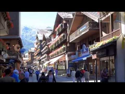 Zermatt, gateway to the Matterhorn. Switzerland