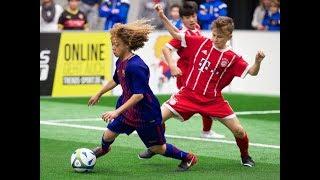 Europas beste U15-Fußballer - MTU-Cup 2017 | FC Barcelona, ManUnited, FC Bayern, AC Milan, Ajax..