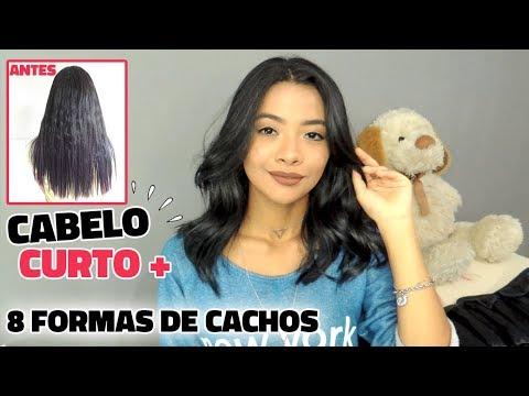 EU AMO CABELO CURTO + 8 FORMAS DE FAZER ONDAS   Sapphire 8 in 1