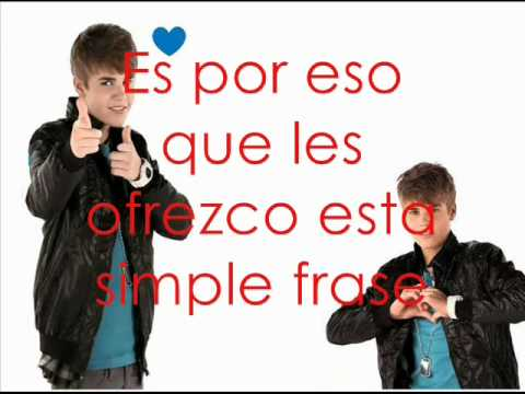 Justin Bieber feat. Usher - The Christmas Song  traducido al español