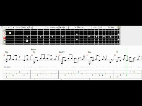 tab เพลงมุม fingerstyle เล่นง่ายๆ by GaiZ