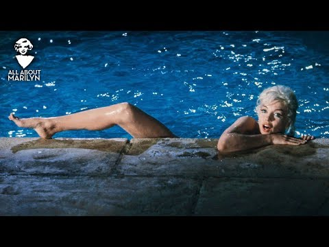 Marilyn Monroe - Nude Swimming Scene from Something's Got to Give