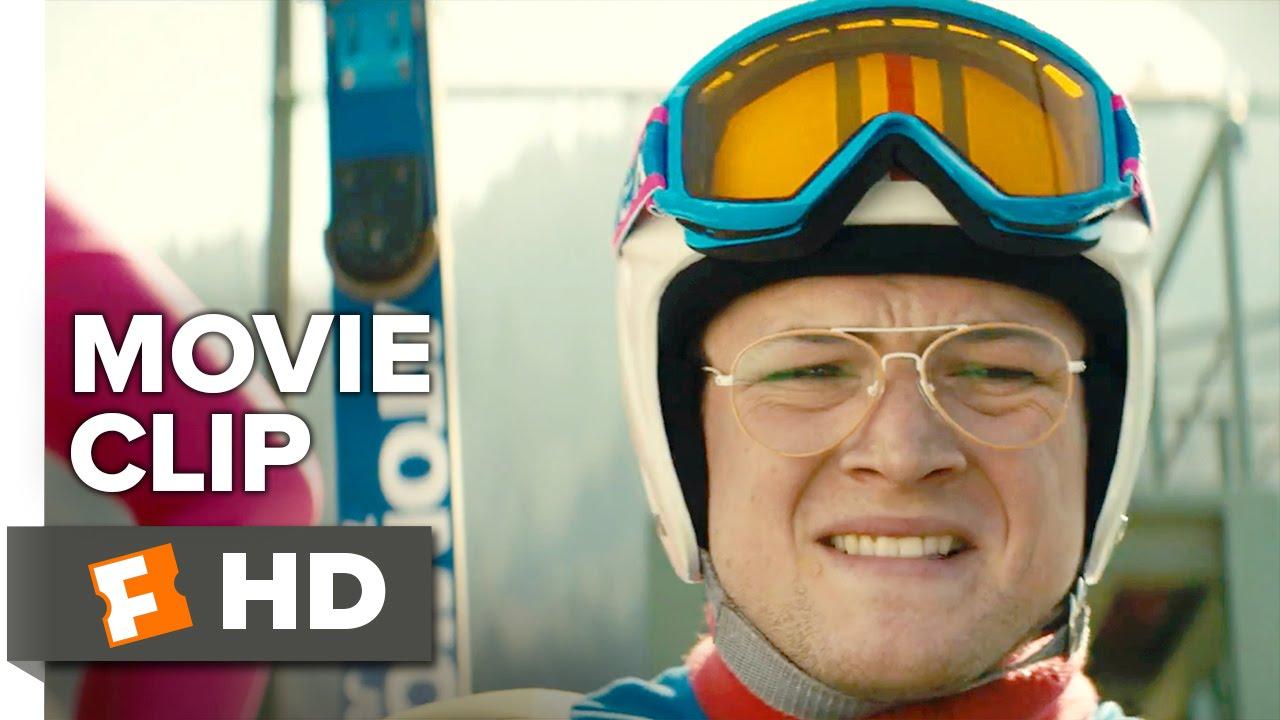 Eddie the Eagle Movie CLIP - 70 Meter Jump (2016) - Taron Egerton, Hugh  Jackman Movie HD - YouTube