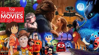 Top 16 best animated movies of all time according to imdb