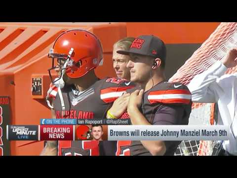 Browns Will Release Johnny Manziel March 9th | NFL News