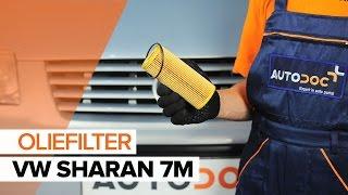 Hoe een motorolie og oliefilter op een VW SHARAN 7M [HANDLEIDING]