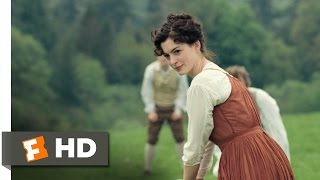 Becoming Jane (2/11) Movie CLIP - Jane Plays Cricket (2007) HD