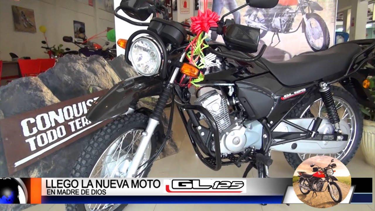 spot nueva moto gl125 por ym film 95121580 - youtube