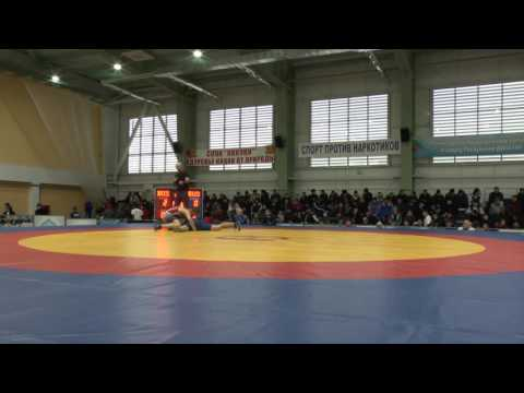 63 кг 1/32 Багаудинов Ахмад (Дагестан) – Мамаев Алик (С-Петербург)