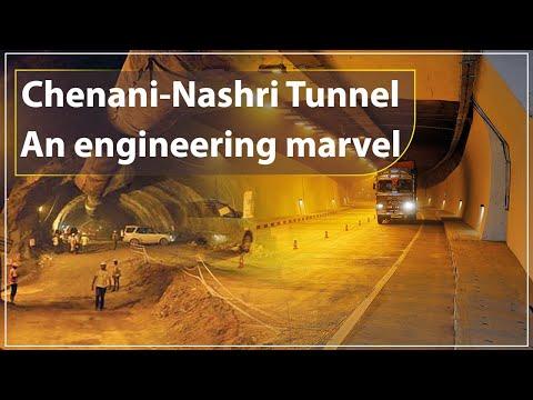 Chenani-Nashri Tunnel - An engineering marvel