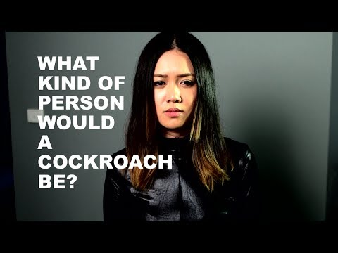What Kind of Person Would A Cockroach Be?