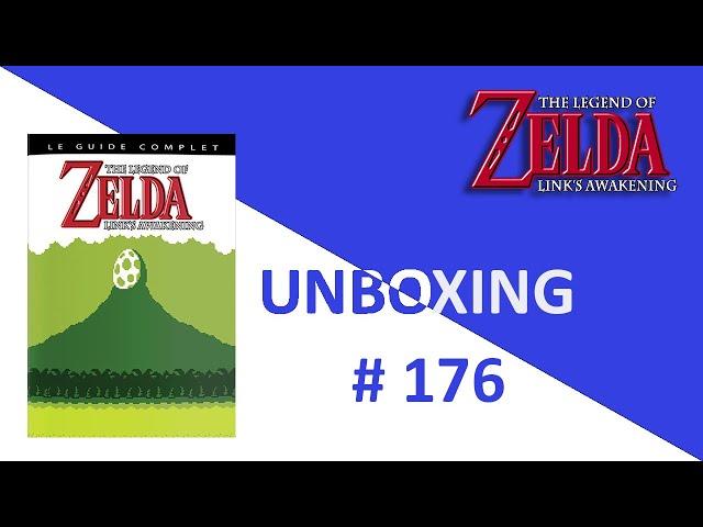 Unboxing / Déballage # 176 Guide Complet The Legend Of Zelda: Link's Awakening GB (L'Ecureuil Noir)