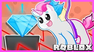 Roblox | Escape Rob The Bank Obby With Honey The Unicorn