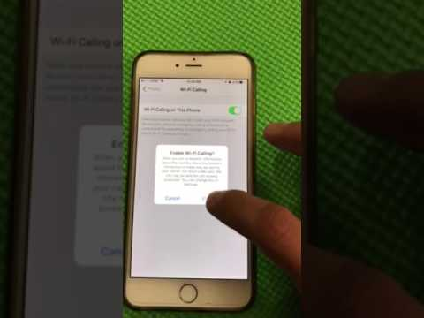 Turn on wifi calling iphone 5s ee