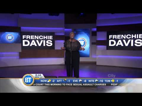 "Frenchie Davis performs ""Home"""