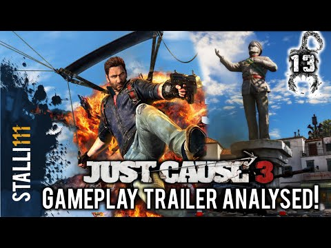 ► Just Cause 3   Analysis of OFFICIAL GAMEPLAY TRAILER  for Just Cause 3 [BREAKDOWN]