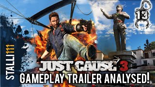 ► Just Cause 3 | Analysis of OFFICIAL GAMEPLAY TRAILER  for Just Cause 3 [BREAKDOWN]