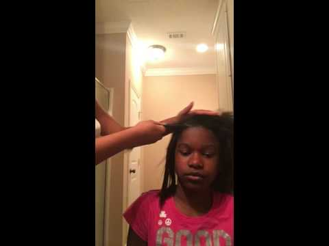 Straightening brush on African American/black hair review