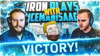 IRON PLAYS AGGRESSIVE with ICEMANISAAC! | #1 WINS all platforms