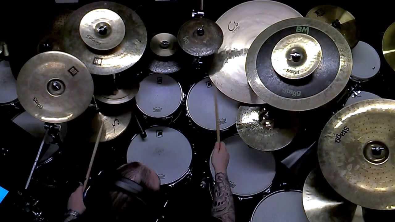 stagg 9 black metal splash cymbal demo with mics james chapman youtube. Black Bedroom Furniture Sets. Home Design Ideas