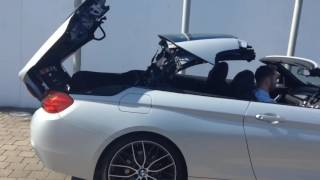 The New BMW 420d M Sport Convertible at Frank Keane.